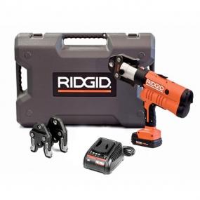 Пресс-инструмент RP 340-B аккумуляторный с клещами TH 16-20-26 мм Ridgid 43263