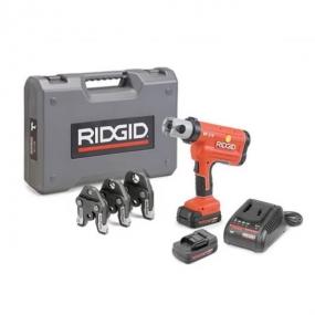 Пресс-инструмент RP 210-B аккумуляторный с клещами TH 16-20-26 мм Ridgid 44196