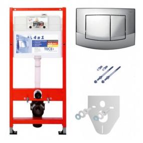 Комплект TECEbase для установки подвесного унитаза с панелью смыва ТЕСЕambia 9400005