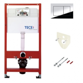 Комплект TECEbase для установки подвесного унитаза с панелью смыва ТЕСЕnow 9400012