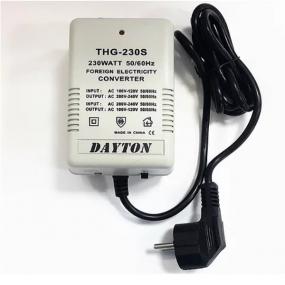 Трансформатор 220/110В Dayton THG-230S