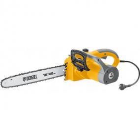 Пила цепная электрическая ELS-2000, 2 кВт, 40 см, 13,5 м/с Denzel 95601