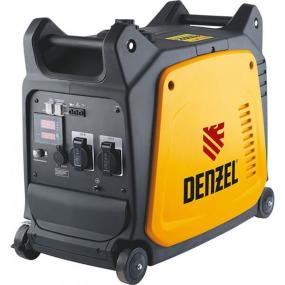 Генератор инверторный GT-2600i, X-Pro 2,6 кВт, 220 В, бак 7,5 л, ручной старт Denzel 94643