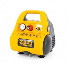 Компрессор воздушный безмасляный РС 1/6-180,1, 1 кВт, 180 л/мин, 6 л Denzel 58057