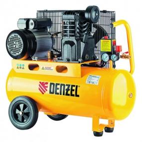 Компрессор масляный PC 2/50-400, Х-Pro, 10 бар, 400 л/мин, 2,3 кВт, 220В Denzel 58094