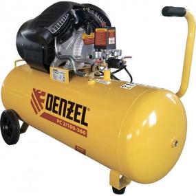 Компрессор воздушный PC 2/100-360, 2,3 кВт, 360 л/мин, 100 л, 10 бар Denzel 58078