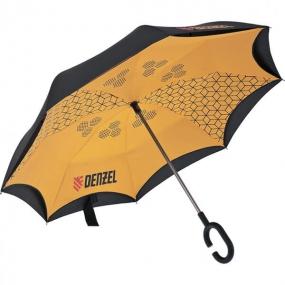 Зонт-трость обратного сложения Denzel 69706
