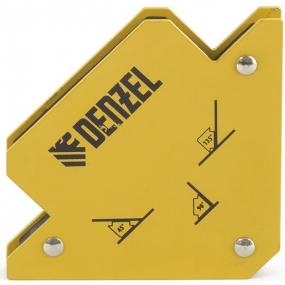 Фиксатор магнитный для сварочных работ, усилие 25 Lb Denzel 97551