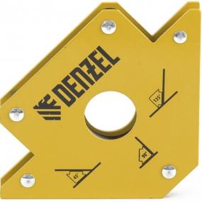 Фиксатор магнитный для сварочных работ, усилие 50 Lb Denzel 97553