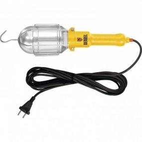 Лампа переносная 60 Вт, кабель 5 м Denzel 92628