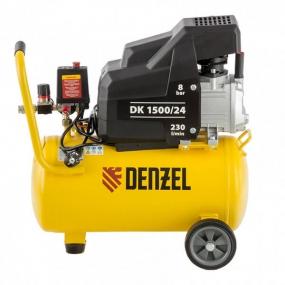Компрессор воздушный DK1500/24, Х-PRO 1,5 кВт, 230 л/мин, 24 л Denzel 58063
