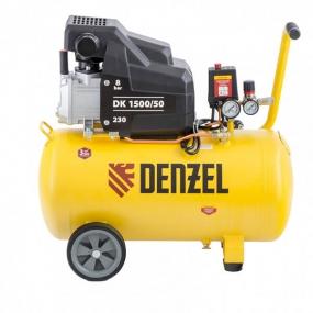 Компрессор воздушный DK1500/50, Х-PRO 1,5 кВт, 230 л/мин, 50 л Denzel 58064