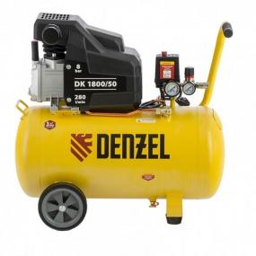 Компрессор воздушный DK1800/50, Х-PRO 1,8 кВт, 280л/мин, 50л Denzel 58068