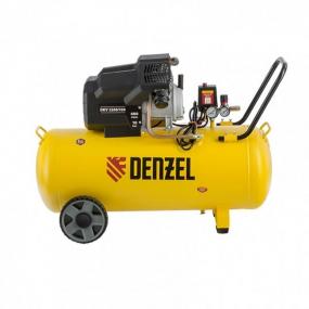 Компрессор воздушный DKV2200/100, Х-PRO 2.2 кВт, 400 л/мин, 100л Denzel 58079