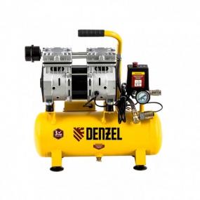 Компрессор DLS650/10 650 Вт, 120 л/мин, ресивер 10 л Denzel 58021