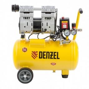 Компрессор DLS950/24 950 Вт, 165 л/мин, ресивер 24 л Denzel 58026