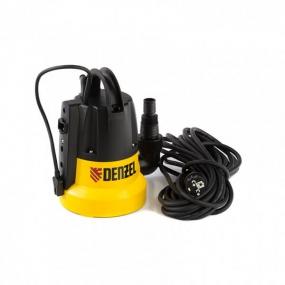 Дренажный насос DP500E, 500 Вт, 7 м, 7000 л/ч Denzel 97218