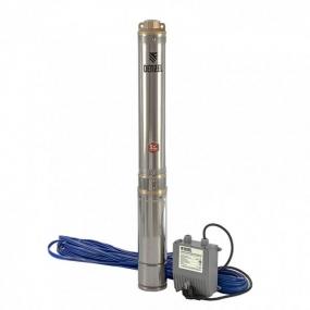 Скважинный центробежный насос DWC-4-80, 1500 Вт, 5700 л/ч, 80 м Denzel 97256