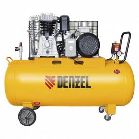 Компрессор масляный DR4000/100, 10 бар, 690 л/м, 4 кВт Denzel 58092