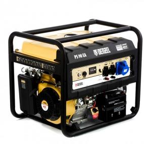 Генератор бензиновый PS 90 EA, 9,0 кВт, 230В, 25л, электростартер Denzel 946934