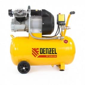 Компрессор пневматический 2,2 кВт, 350 л/мин, 50 л Denzel 58081