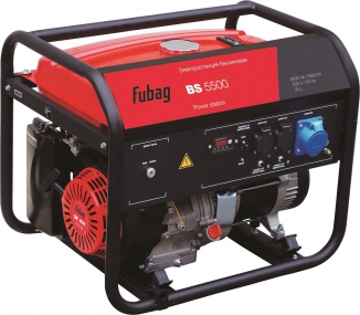 Бензиновый электрогенератор Fubag BS 5500 838201