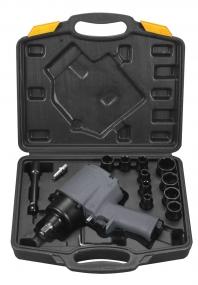 Ударный пневмогайковерт Fubag IW720 + набор головок 100193