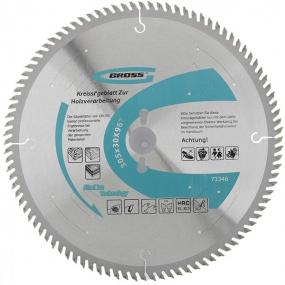 Пильный диск по дереву 305 x 30 мм, 96Т Gross 73346