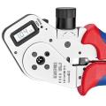Инструмент для тетрагональной опрессовки точеных контактов Knipex KN-975263DG