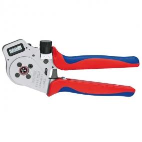 Инструмент для тетрагональной опрессовки точеных контактов Knipex KN-975265DG