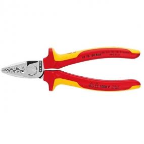 Клещи для обжима контактных гильз VDE Knipex KN-9778180