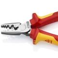 Клещи для обжима контактных гильз VDE Knipex KN-9778180T