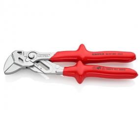 Клещи переставные - гаечный ключ 250 мм VDE Knipex KN-8607250