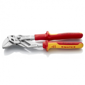 Клещи переставные-гаечный ключ 250 мм VDE Knipex KN-8606250
