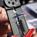 Клещи зажимные для опрессовки 230 мм Knipex KN-9721215B