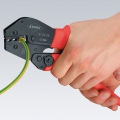 Клещи зажимные для опрессовки Knipex KN-975206