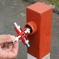 Ключ для электрошкафов универсальный Knipex KN-001106