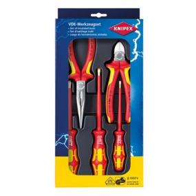 Набор электроизолированных инструментов Knipex KN-002013