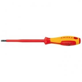 Отвертка для винтов с шлицевой головкой VDE Knipex KN-982065