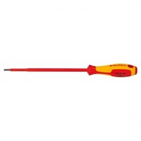 Отвертка для винтов с шлицевой головкой VDE Knipex KN-982145