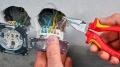 Пассатижи удлиненные 145 мм VDE Knipex KN-0826145T
