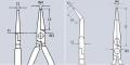 Плоскогубцы механика Knipex KN-3871200