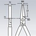 Плоскогубцы модель Утконосы Knipex KN-3301160