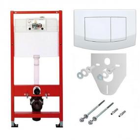 Комплект TECEbase для установки подвесного унитаза с панелью смыва ТЕСЕambia K400200