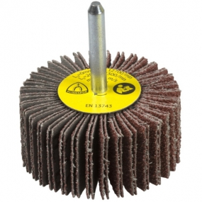 Круг шлифовальный лепестковый на шпильке (60х30 мм; 6 мм; Р100) Klingspor 13053