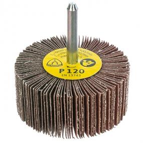 Круг шлифовальный лепестковый на шпильке (60х30 мм; 6 мм; Р120) Klingspor 13054