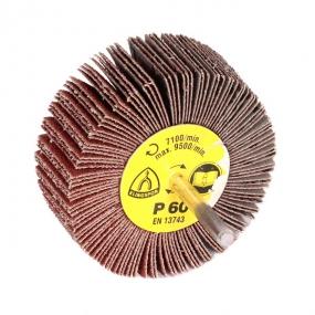 Круг шлифовальный лепестковый на шпильке (80х30 мм; 6 мм; Р60) Klingspor 13141