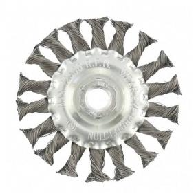 Щетка для УШМ 100 мм, М14, плоская Matrix 74631
