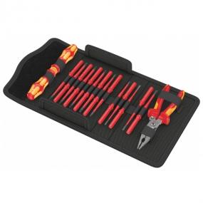 Набор Kraftform Kompakt VDE 17 extra slim 1 Wera WE-136027