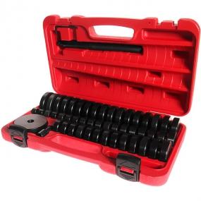 Набор оправок для выпрессовки подшипников, втулок, сальников 18-74 мм 50 шт. в кейсе JTC JTC-4856